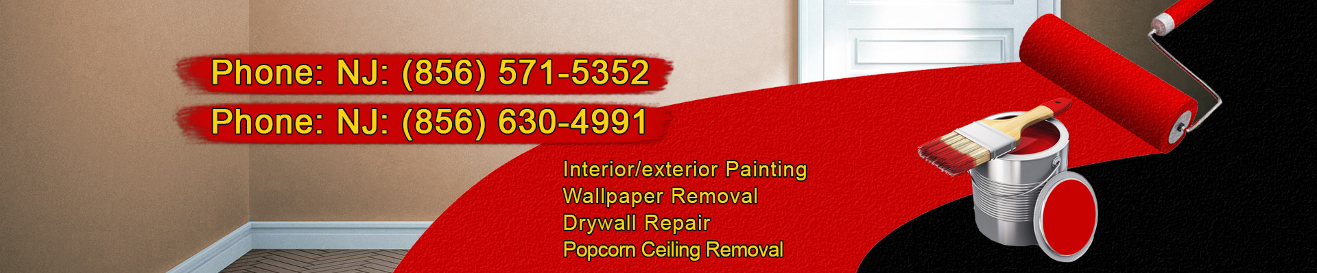 South Jersey and Philadelphia painting contractors - slide image